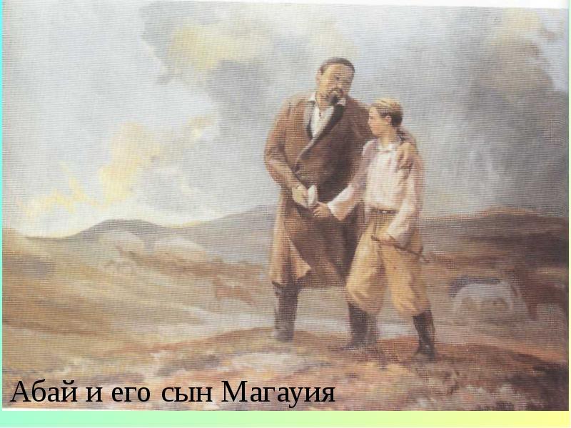 Абай Кунанбаев. Слова назидания, слайд 17