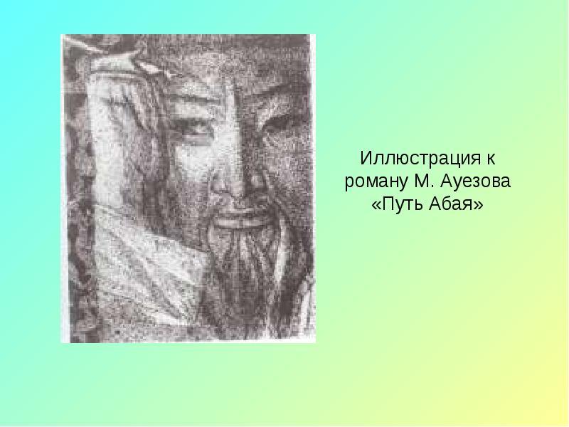 Абай Кунанбаев. Слова назидания, слайд 19