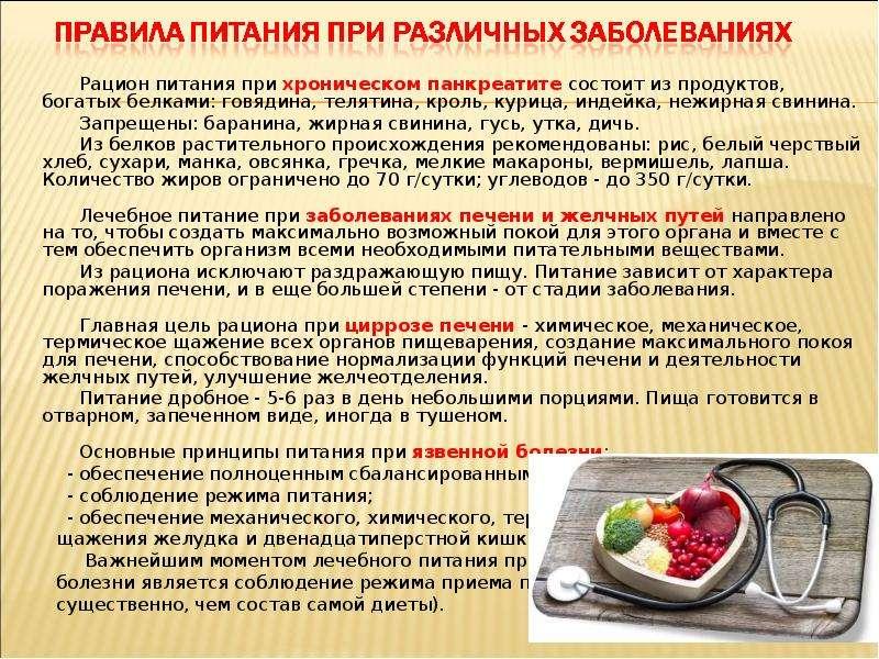 Панкреатит диет питание