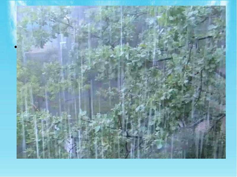 Годовое количество осадков от 550 до 750 мм в год. Их распределение по всей территории области неско