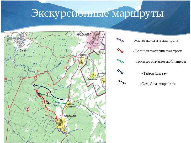 Экскурсионные маршруты