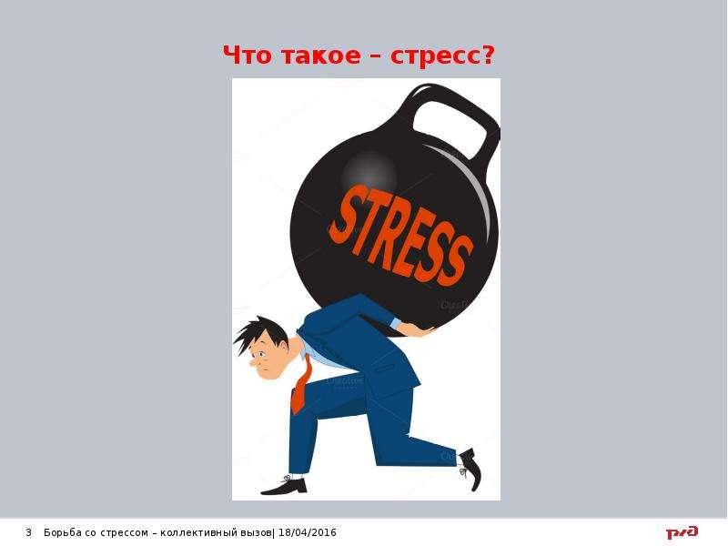 Что такое – стресс?