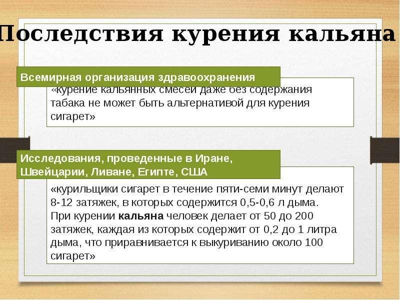 О профилактике курения в подростковой среде. Вред курения кальянов и электронных сигарет, слайд 22
