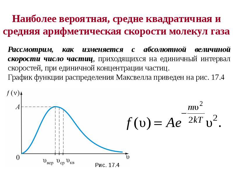 Формула Максвелла для относительных скоростей, слайд 3