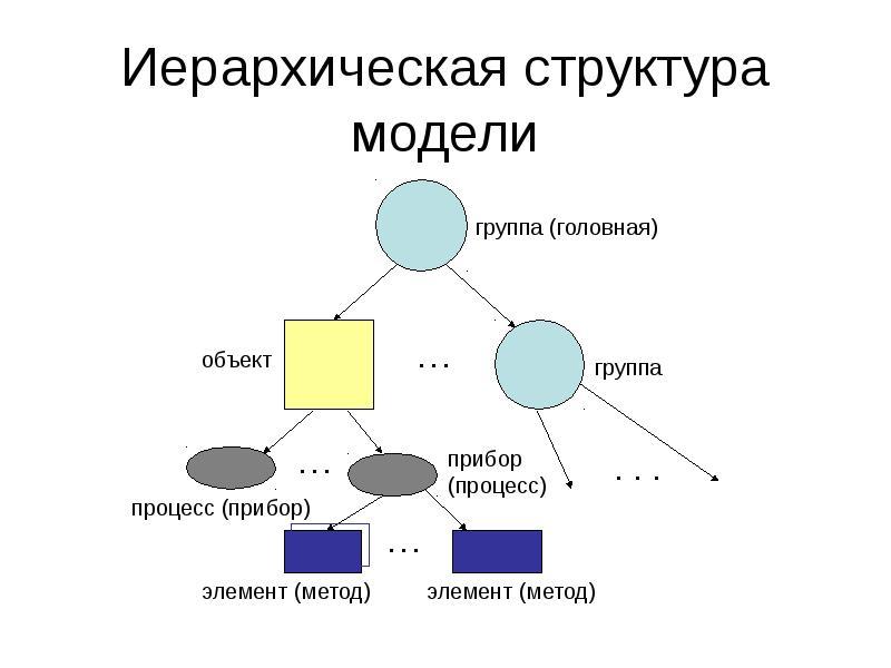 Иерархическая структура модели
