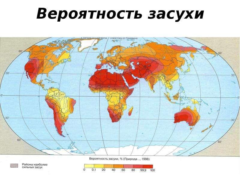 Вероятность засухи