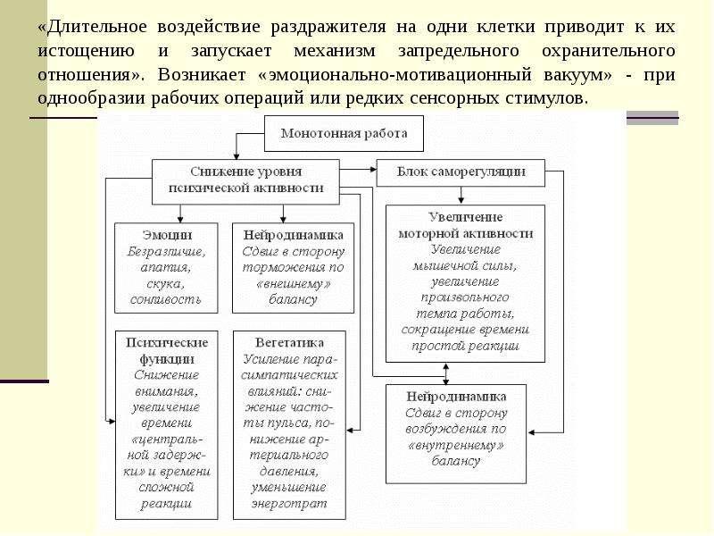 Основы физиологии труда и обеспечение рациональных производственных условий труда, слайд 25