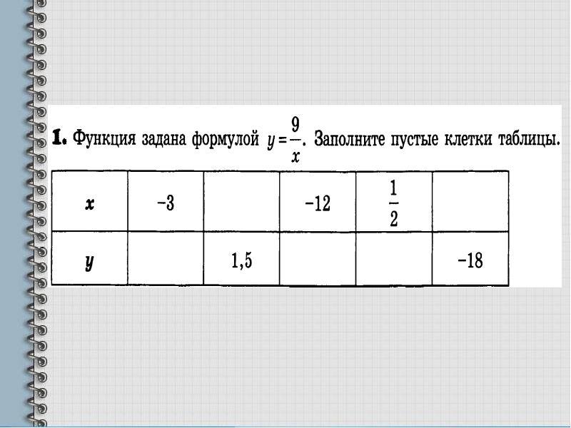 Вычисление значений функции по формуле, слайд 6