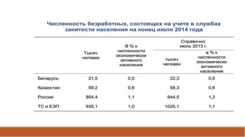Государственная политика занятости, слайд 13