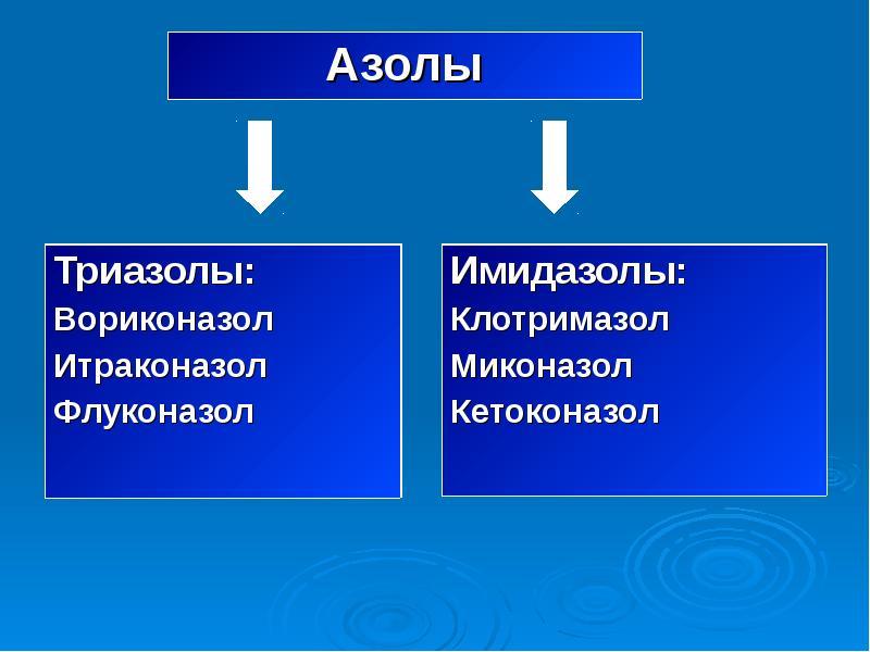 Многообразие противоинфекционных препаратов, слайд 48