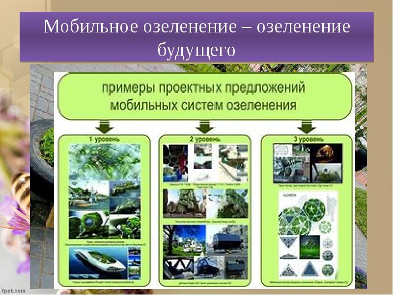 Мобильное озеленение – озеленение будущего