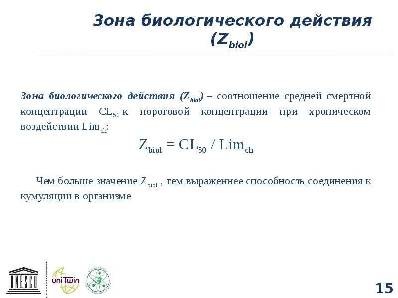 Зона биологического действия (Zbiol)