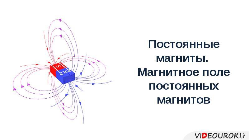 Презентация Постоянные магниты. Магнитное поле постоянных магнитнов