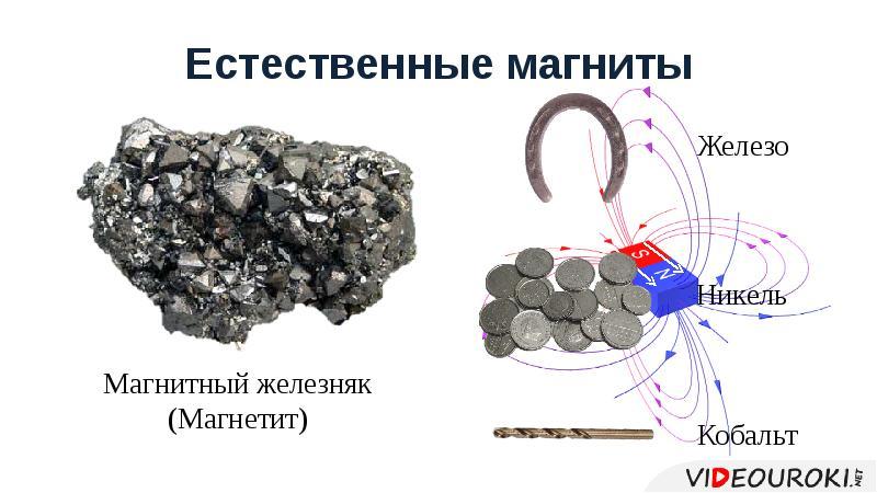 Естественные магниты