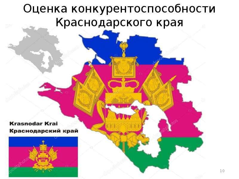 Оценка конкурентоспособности Краснодарского края