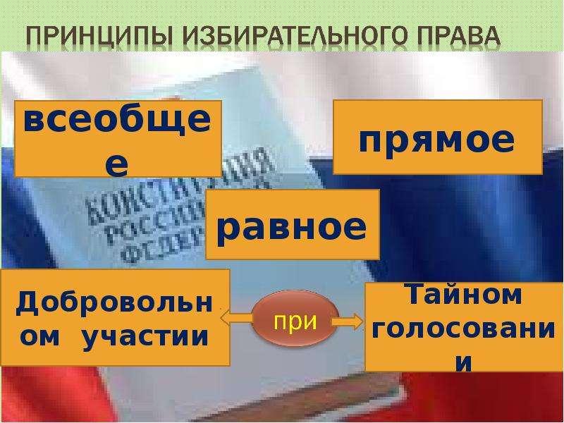 Выборы, голосование, референдум, слайд 10