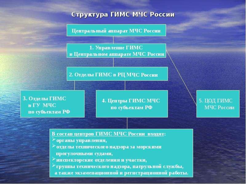 Структура ГИМС МЧС России