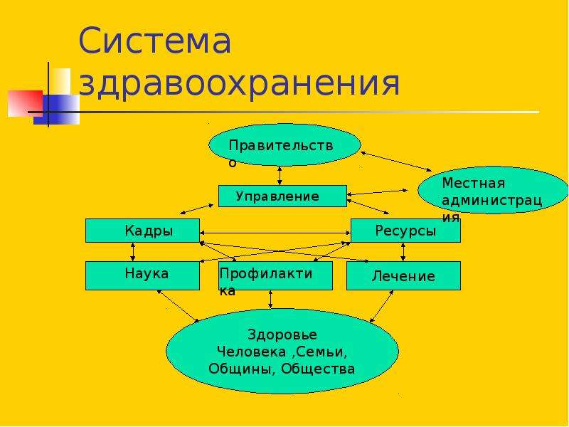 Система здравоохранения Управление