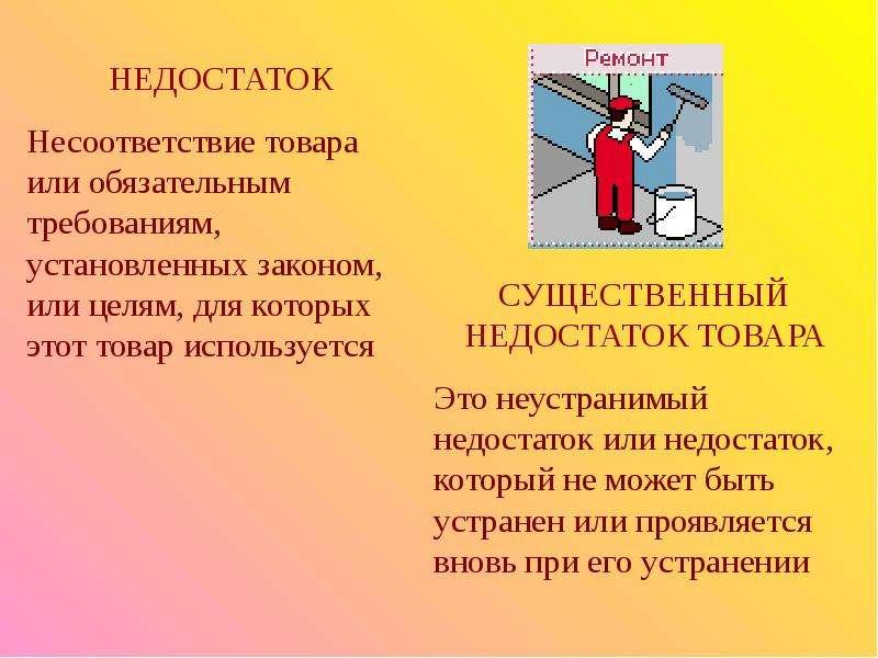 Гражднское право. Защита прав потребителей, рис. 23
