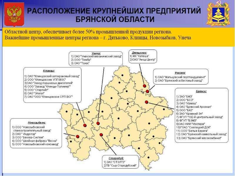 Инвестиционный паспорт региона. Брянская область, слайд 16