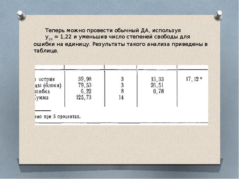 Рандомизированные блоки оценивания недостающих данных, слайд 9