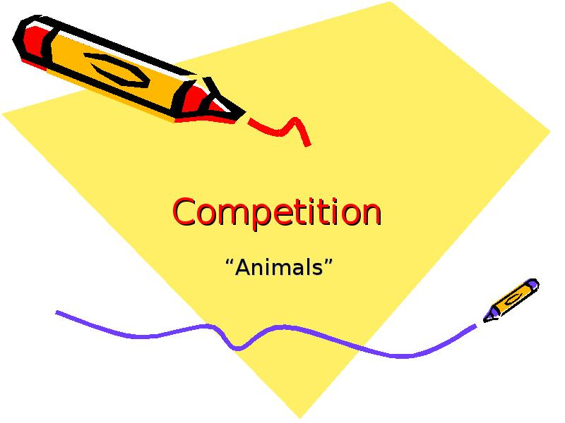 Competition Animals