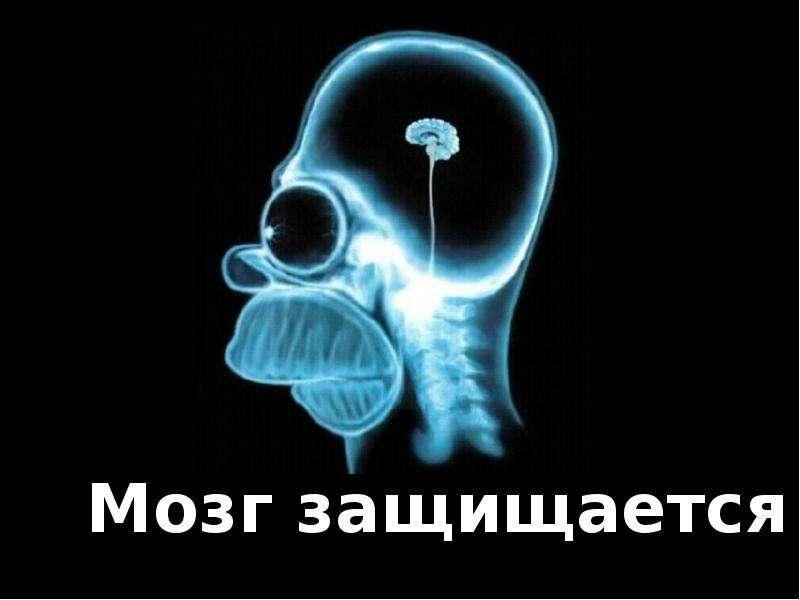 Мозг защищается