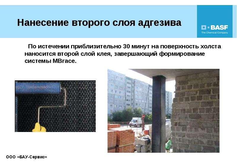 Усиление строительных конструкций композиционными материалами, слайд 34