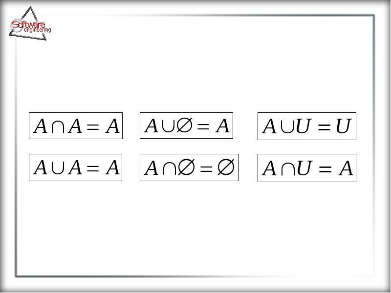 Основные понятия теории множеств, слайд 25