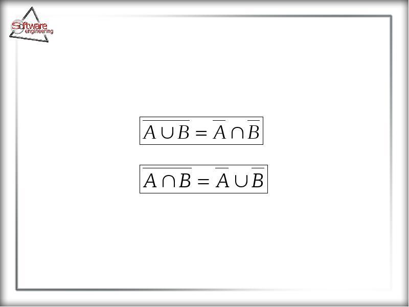 Основные понятия теории множеств, слайд 28
