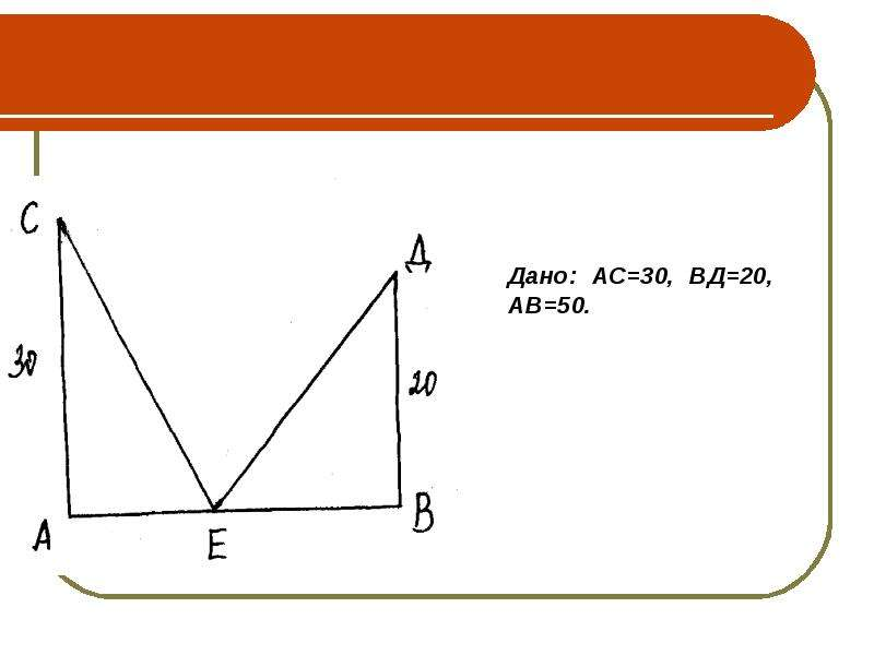 Старинная задача. Теорема Пифагора, слайд 22