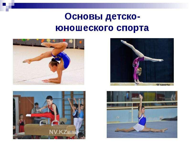 Презентация Предмет теории и методики юношеского спорта