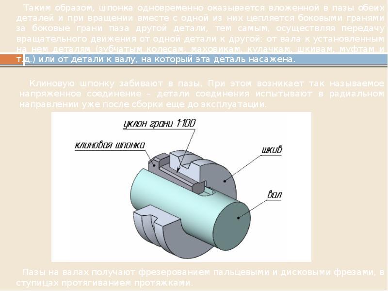 Типовые соединения деталей в конструкциях, слайд 15