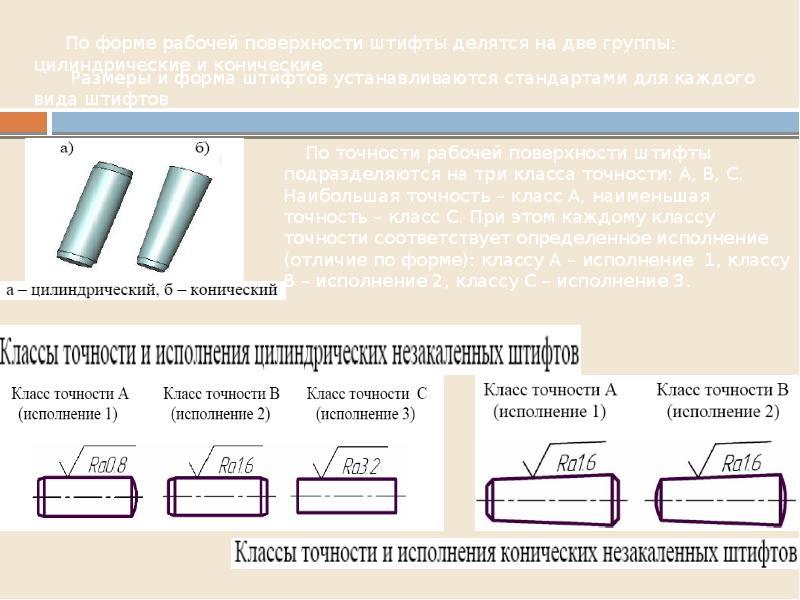 Типовые соединения деталей в конструкциях, слайд 7
