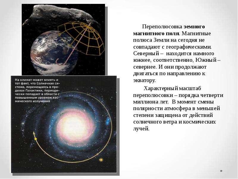 Переполюсовка земного магнитного поля. Магнитные полюса Земли на сегодня не совпадают с географическ