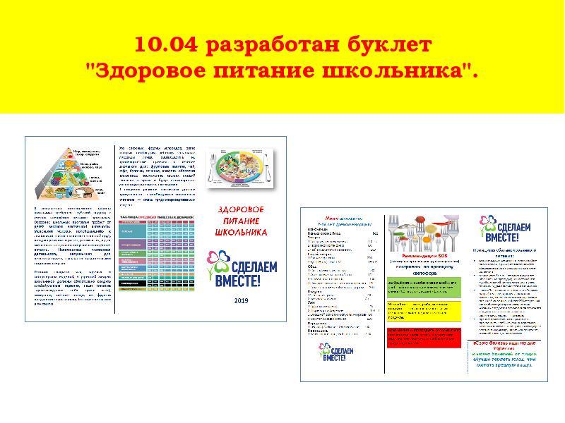 Буклет Диета 4. Диета 4 — разрешенные продукты и меню на неделю