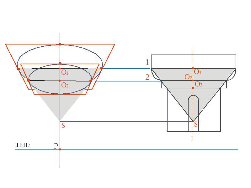 Построение перспективы капители, слайд 2