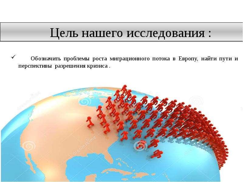 Рост миграционного потока в Европу: пути и перспективы разрешения кризиса, слайд 5