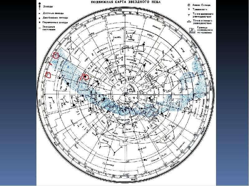 Решение задач по наблюдению звёздного неба с помощью ПКЗН, слайд 16