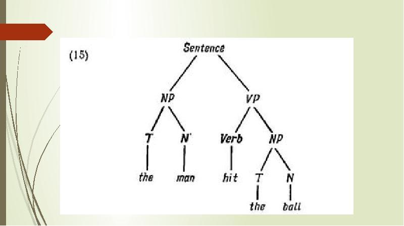 Генеративная лингвистика. Хомский Ноам, слайд 32