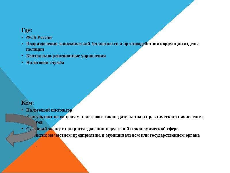 Где: Где: ФСБ России Подразделения экономической безопасности и противодействия коррупции отделы пол