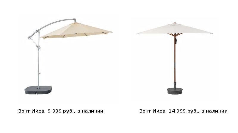 Зонт Икеа, 9 999 руб. , в наличии