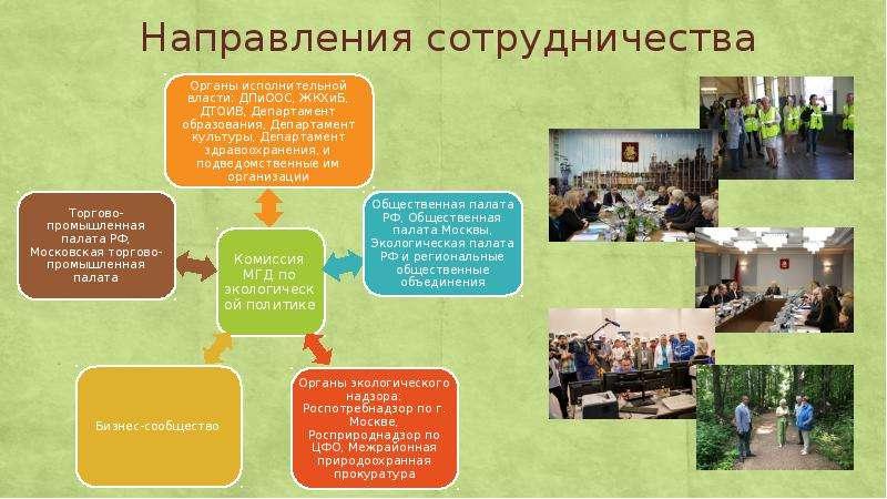 Деятельность комиссии МГД по экологической политике, слайд 4