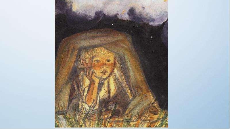 Описание мальчиков в рассказе Тургенева «Бежин луг», слайд 11