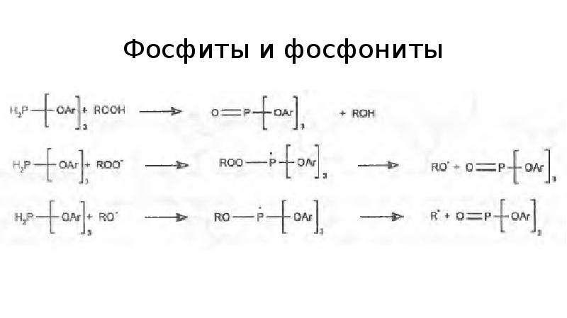 Фосфиты и фосфониты