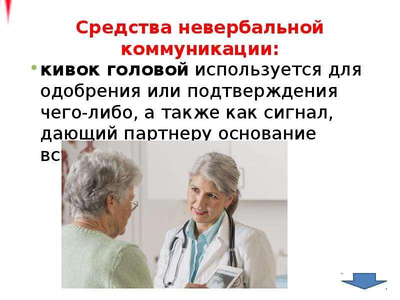 Средства невербальной коммуникации: кивок головой используется для одобрения или подтверждения чего-