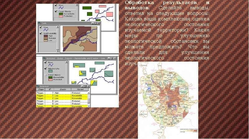 Геоэкологическое картографирование, слайд 14