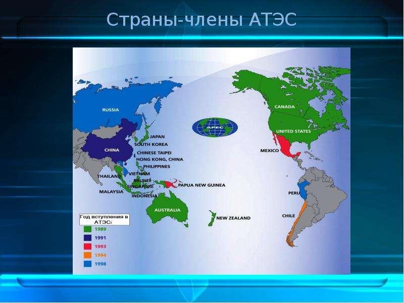 Страны-члены АТЭС