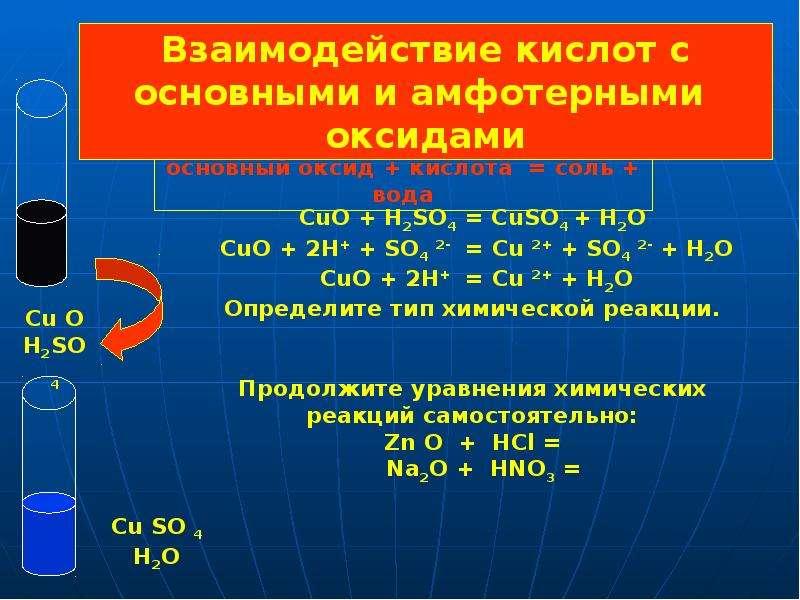 Кислоты. Классификация кислот по строению кислотного остатка, слайд 11