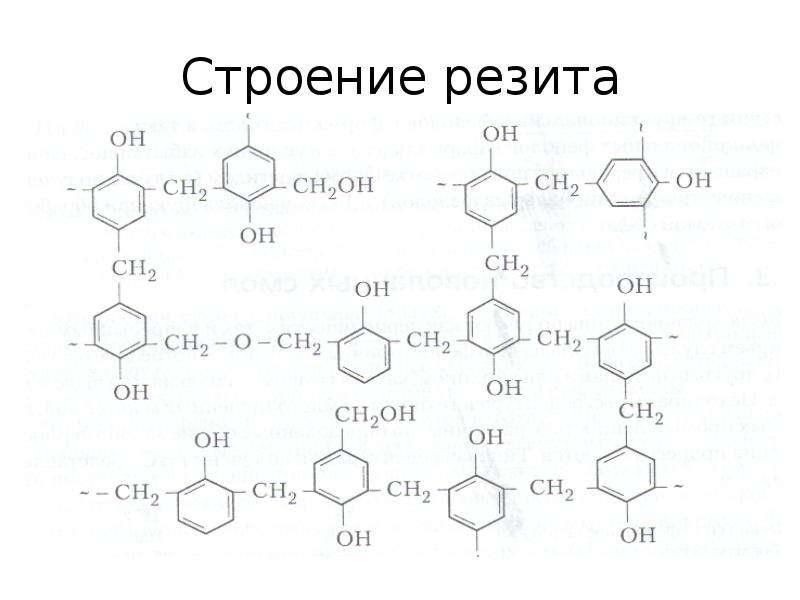 Строение резита